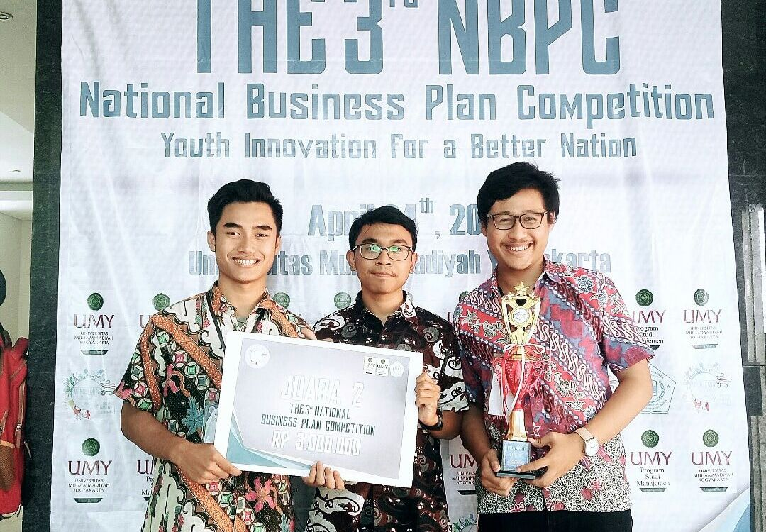 Mahasiswa Telkom University Raih Gelar Juara National Business Plan Competition di Yogyakarta